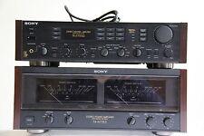 Sony Ta-n77es Power amplifier and Ta-e77esd Pre-Amplifier