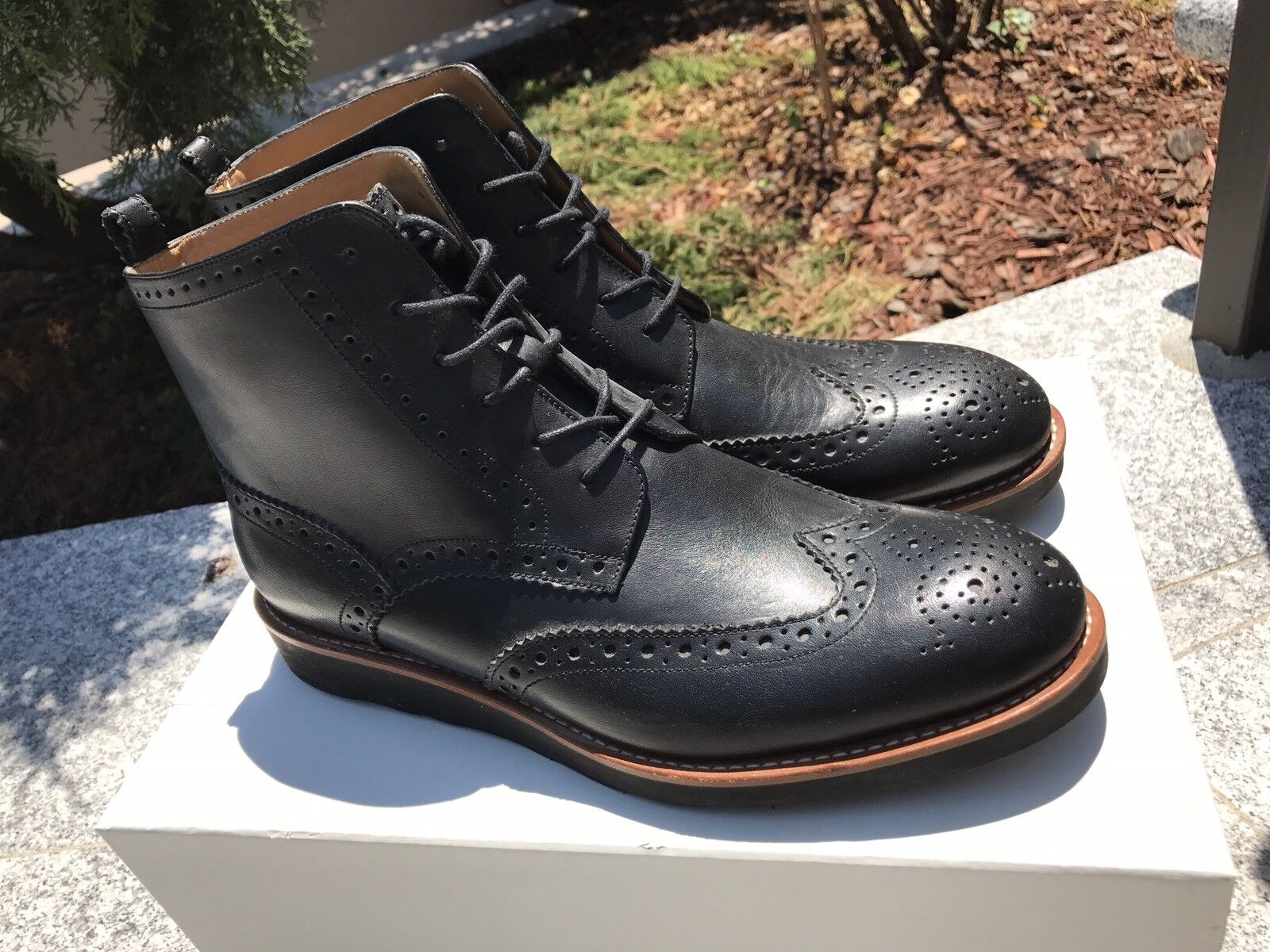 Men Bally Black Ankle Leather Boots