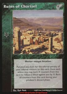 tes-ruins of charizel-master//kindred most wanted Vtes v