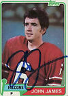 1981 Topps John James #367 Football Card