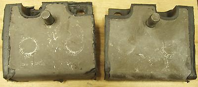 63 64 FORD GALAXIE  352 390 427 MOTOR MOUNTS  PAIR COUNTRY SEDAN SQUIRE SUNLINER