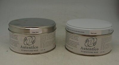 Autentico Furniture Wax for Use with Chalk Paint - Clear or Dark