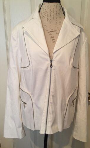lommer White Bryant Lane Jacket 50 lynlås Nye Sz 22 89 Kvinders Org r8f7qx7nw5