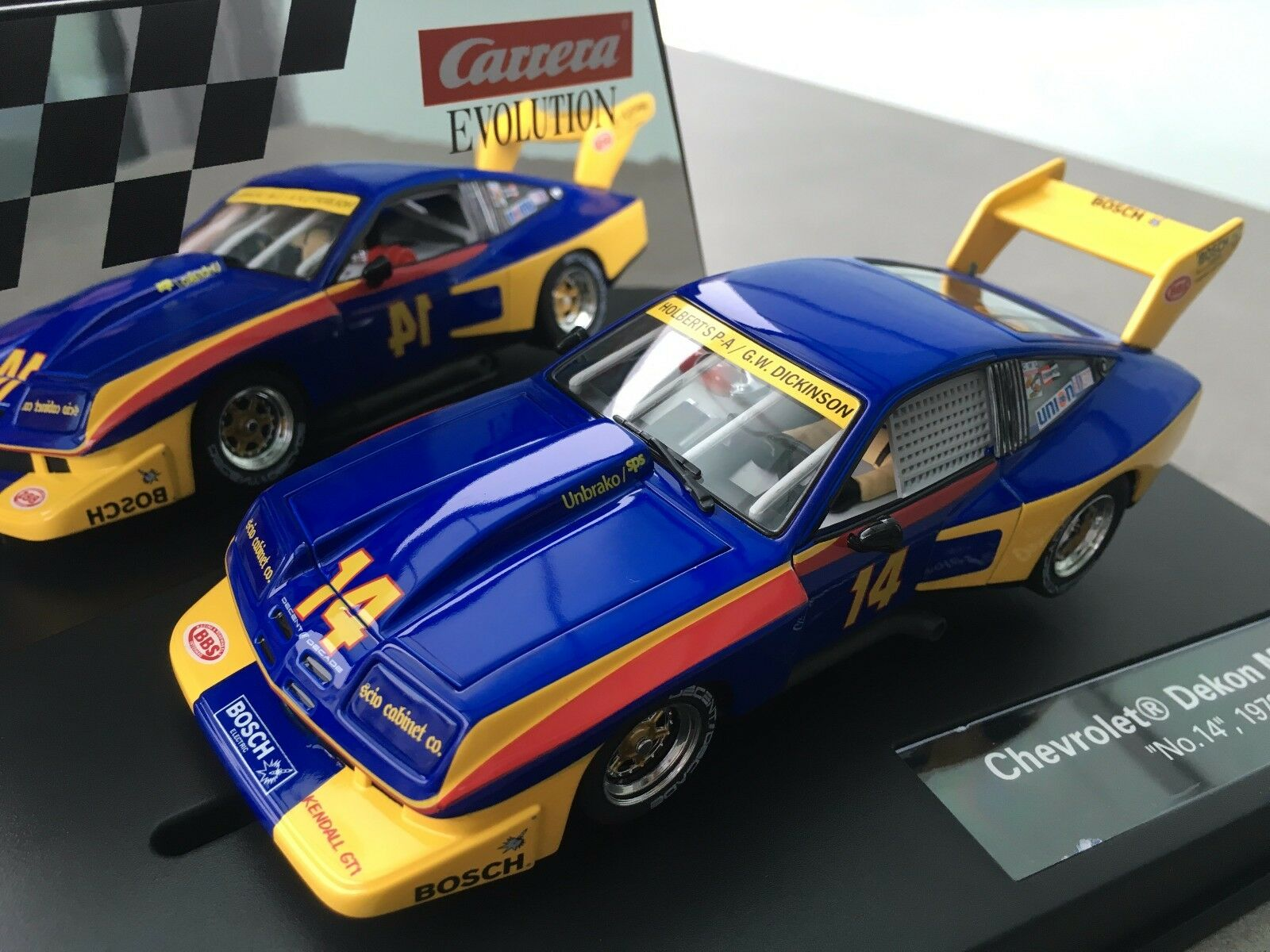 Carrera Evolution 27490 Chevrolet Dekon Monza   no. 14  , 1978 NIP