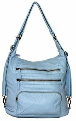 """Soft Vegan Leather Handbag /""""The Paige Cross Body/"""" by Ampere Creations"""