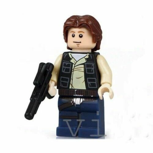 HAN SOLO STAR WARS NEW HOPE MINI CAN PLAY WITH LEGO`S  FIGURE USA SELLER NIP