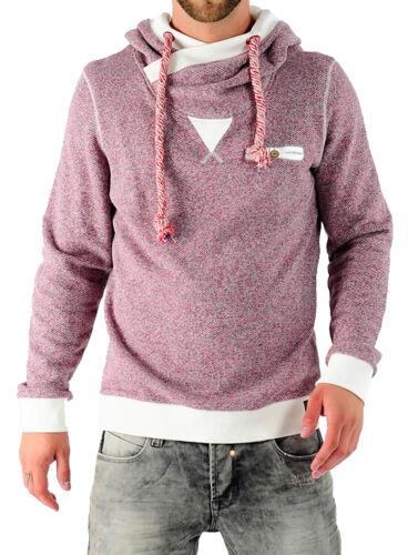 VSCT Felpa da uomo vintage con cappuccio Pullover Hoodie v-5641929 Oxblood NUOVO
