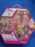 Barbie Girls Mp3 Player 3 In 1 Pink Gift Pack Mix & Match Fashion Clip On Pet