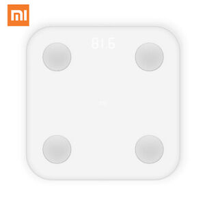 Báscula inteligente Xiaomi Mi Body Composition Scale Fat Scale Versión Global ES