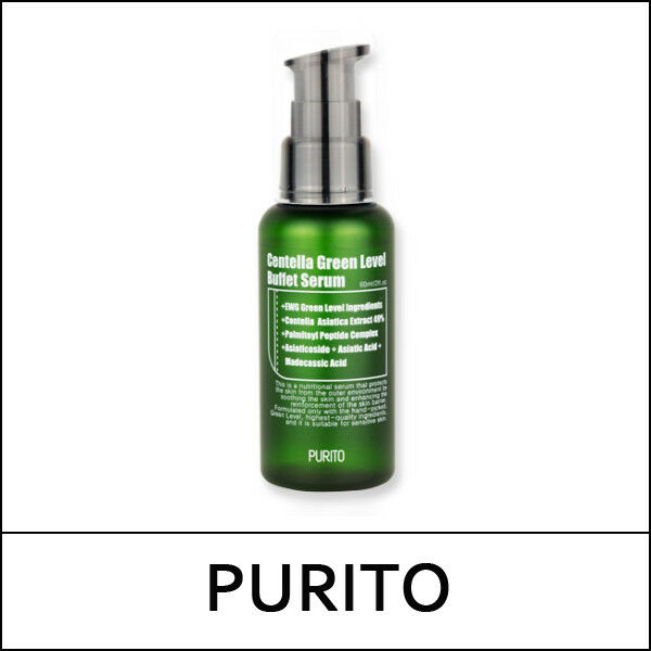 [PURITO] Centella Green Level Buffet Serum 60ml / Korea Cosmetic SweetCorea /1V2