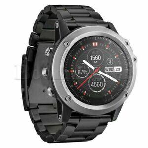 Neu-26mm-Metall-Riemen-Edelstahl-Armband-Uhrenarmband-Strap-FuerGarmin-Fenix-3-HR