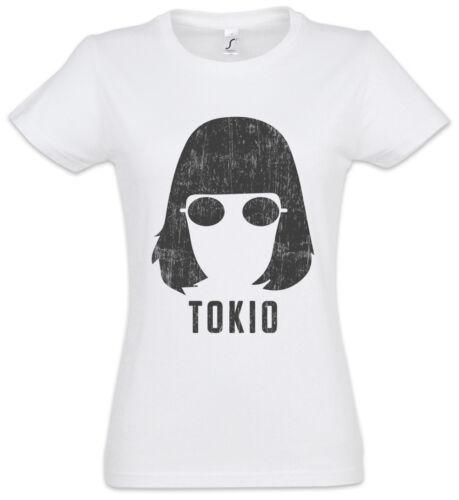 Tokio Face Damen T-Shirt Money La Casa Haus des Heist de Papel Geldes Namen