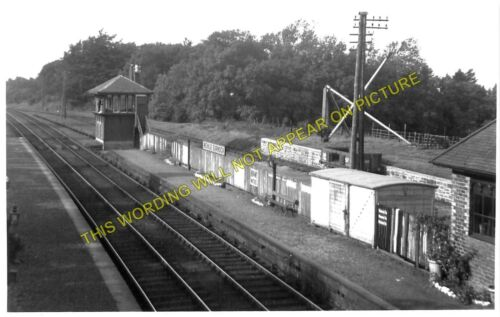 Quarter Meikle Earnock Railway Station Photo Caledonian. High Blantyre 1