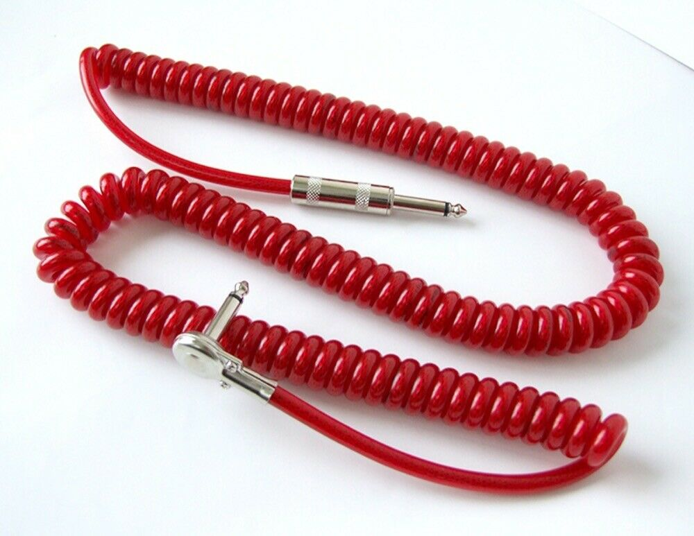 Vital Audio VPC Rojo 7m 23ft SL instrumento de de de código de Rizo de cable en espiral de guitarra c9d343