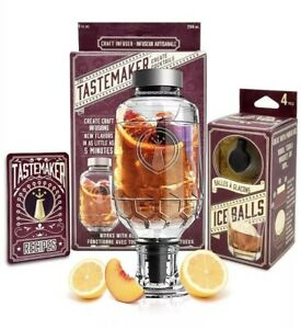 Lemon Drops Citrus Ice Cube Infuser Set Party Pack cocktails Christmas Gift
