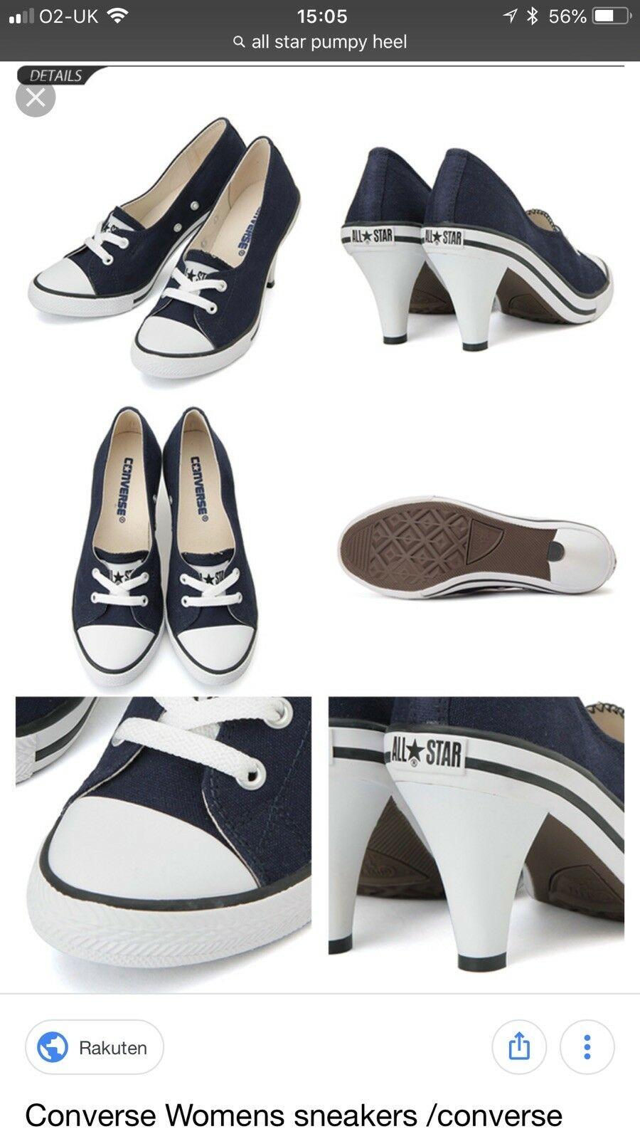 Converse All Star Pumpy Heel