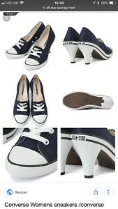 Converse all stars Lady's CONVERSE ALL STAR PUMPYHEEL OX Bakery P heel OX Lady's shoes sneakers Converse?