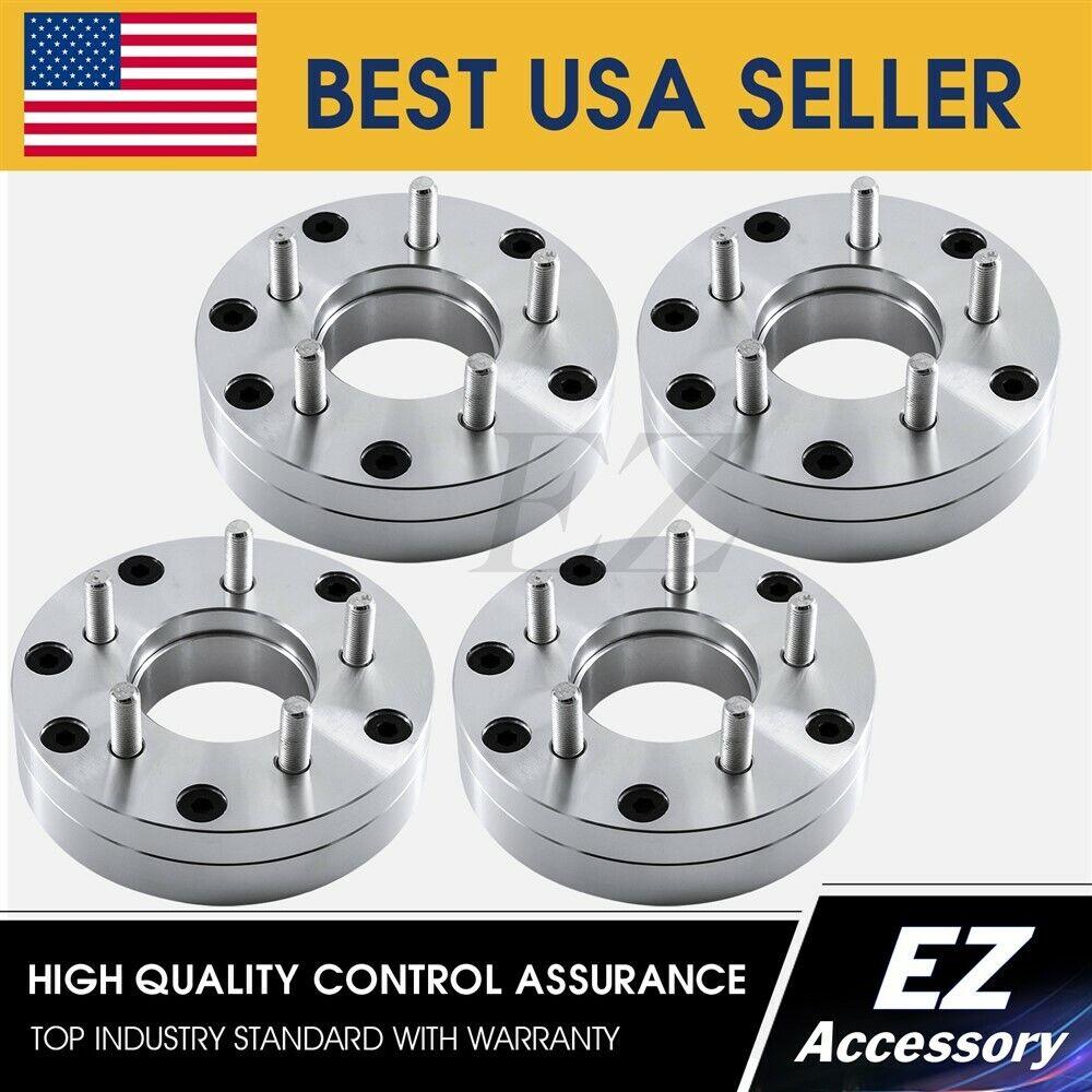 "4 Wheel Adapters 5 Lug 4.5 To 5 Lug 5.5 Spacers 5x4.5//5x5.5 1/"""