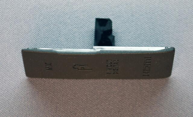 Canon EOS 550D (Rebel T2i / Kiss X4) Terminal Black MIC A/V Out HSMI Cap I/F