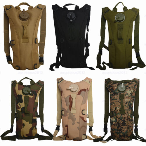 Fashion-3L-Water-Bladder-Bag-Hydration-Backpack-Packs-Hiking-Camping-Cycling