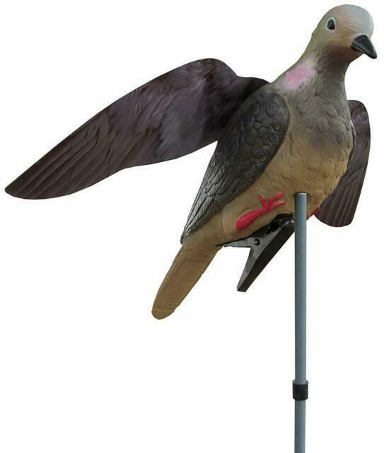 """Hunter/'s Edge Wing-it Dove Decoy with 22/"""" Stake for sale online"""