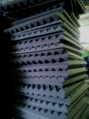 ANGEBOT!Mail2Mail 10stk Pyramiden schaumstoff Akustik Schallschutz ca.100x50x3cm
