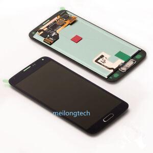 Pour-Samsung-Galaxy-S5-SM-G900F-G901F-ecran-LCD-Vitre-Tactile-cover-Outils-Noir