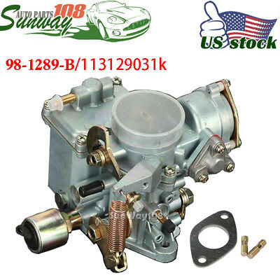 FITS VW 1600CC 34 PICT-3 TYPE 1 CARB CARBURETOR DUAL PORT FOR BEETLE THING