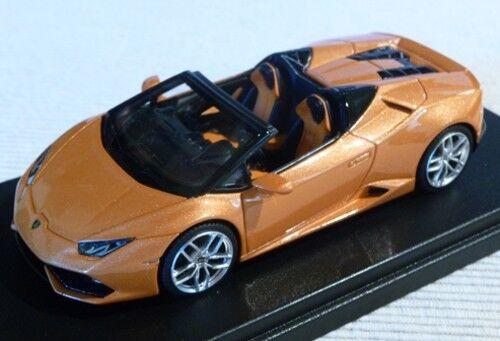 Lamborghini Huracan LP 610-4 Spider 2015 Orange  Borealis Lookintelligent ls452b  pratique