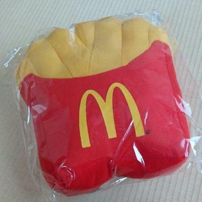 McDonald's Limited Goods Blanket Gloves F/S JAPAN