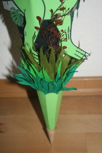 Zuckertüte Dino Dinosaurier Coole Schultüte Neu /& Handarbeit !!! Schultüte
