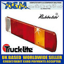 TRUCK AND LORRY PARTS Rear Combination Lens  Repl SCANIA//VOLVO 80873A