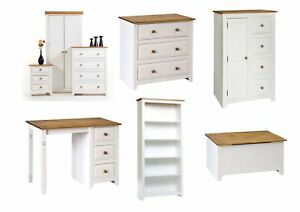 Admirable Details About Capri White Pine Bedroom Furniture Bedside Drawers Wardrobe Desk Storage Download Free Architecture Designs Ferenbritishbridgeorg