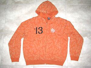 50987844a610a NIKE Univ of TEXAS UT Longhorns Football Double Zip Hoodie Sweater ...