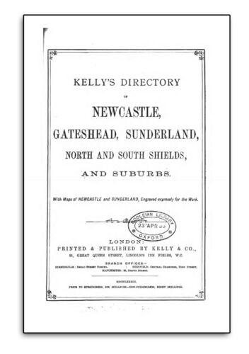 Durham Northumberland Newcastle Co 220 Rare Books on USB History Genealogy G2