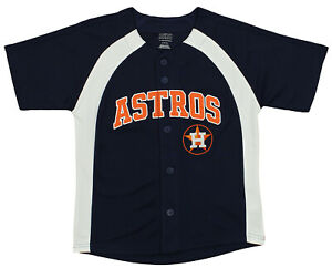 the latest 1439b 4dbf7 Details about Outerstuff MLB Youth Boys Houston Astros Blank Baseball  Jersey, Black