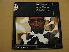 Milt Jackson at the Museum of Modern Art Live Mercury Records Netherlands Vinyl