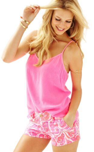 Sz 10 $64 NWT Lilly Pulitzer Pink Pout PBJ Walsh Shorts