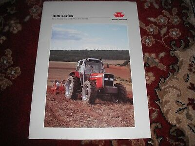 "Tractor Manuals & Publications Business, Office & Industrial Apprehensive Massey Ferguson ""300 Series"" Tractor Brochure Leaflet"