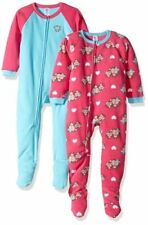 df738f846561 Gerber Toddler Boy Blanket Sleeper Pajamas 2-pack Size 24 Months for ...