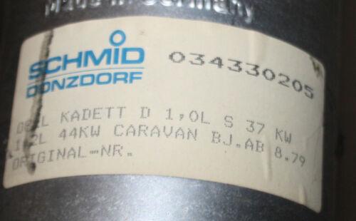 SCHMID DONZDORF Auspuff Mittelschalldämpfer Opel Kadett D Caravan 1.0 37kW 1.2 S