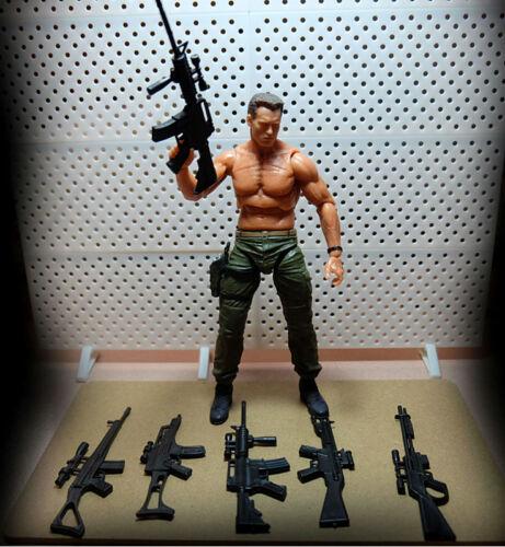 """5pcs//set Weapon Gun Accessories Fits 6/"""" X-Men Deadpool Logan Figure Action Part"""