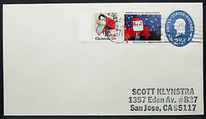 US-Stationery-Cover-American-Lung-Association-Christmas-Scott-GS-Letter-I-8615