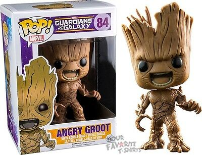 Funko Pop! Guardians Of The Galaxy Angry Groot Marvel Licensed Vinyl Figure