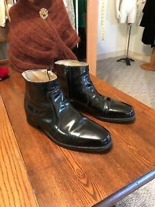 Vintage Black Patent Leather FLORSHEIM