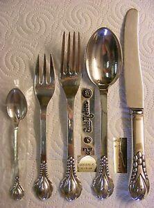 Evald-Nielsen-830-daenisches-Silber-No-3-5-teilig-Dessert-Set-2