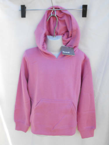 BNWT Feedback Brand Cute Pink Girl/'s Sz 5 Warm Windcheater Style Hoodie Top