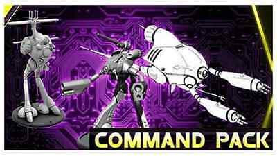 Robotech RPG Tactics: Zentraedi Armada Command Pack (3 Models) *NEW*