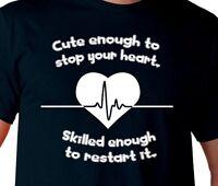 Rn Nursing Cute Lpn Doctor Funny Mens Ladies Gift Tee T Shirt S M L Xl 2xl 3xl