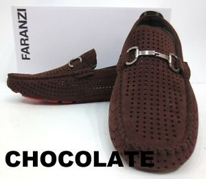 black brown blue tan suede loafers slip